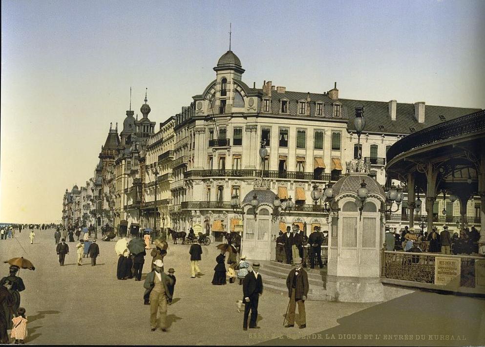 Transpress Nz Old Days In Ostende