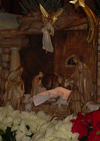 Christmas Nativity scene manger Catholic