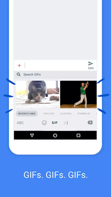 Search and Send GIFs