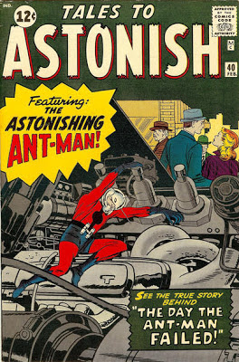 Tales to Astonish #40, Ant Man