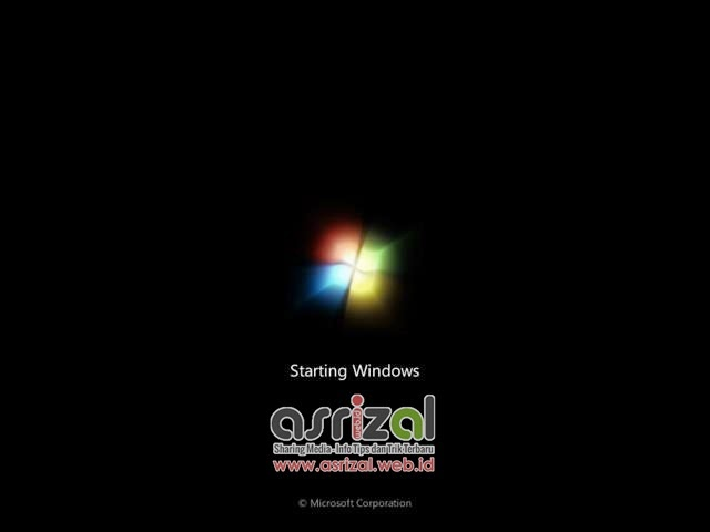 Solusi Gagal Booting Pada Windows 7 All Version