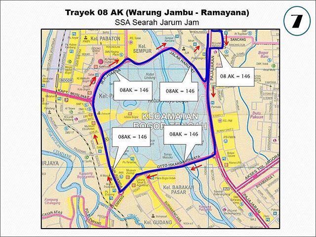 Rute Angkot Warung Jambu-Ramayana