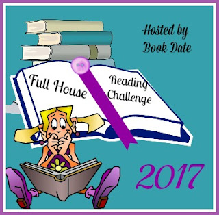 Full House Reading Challenge 2017 badge