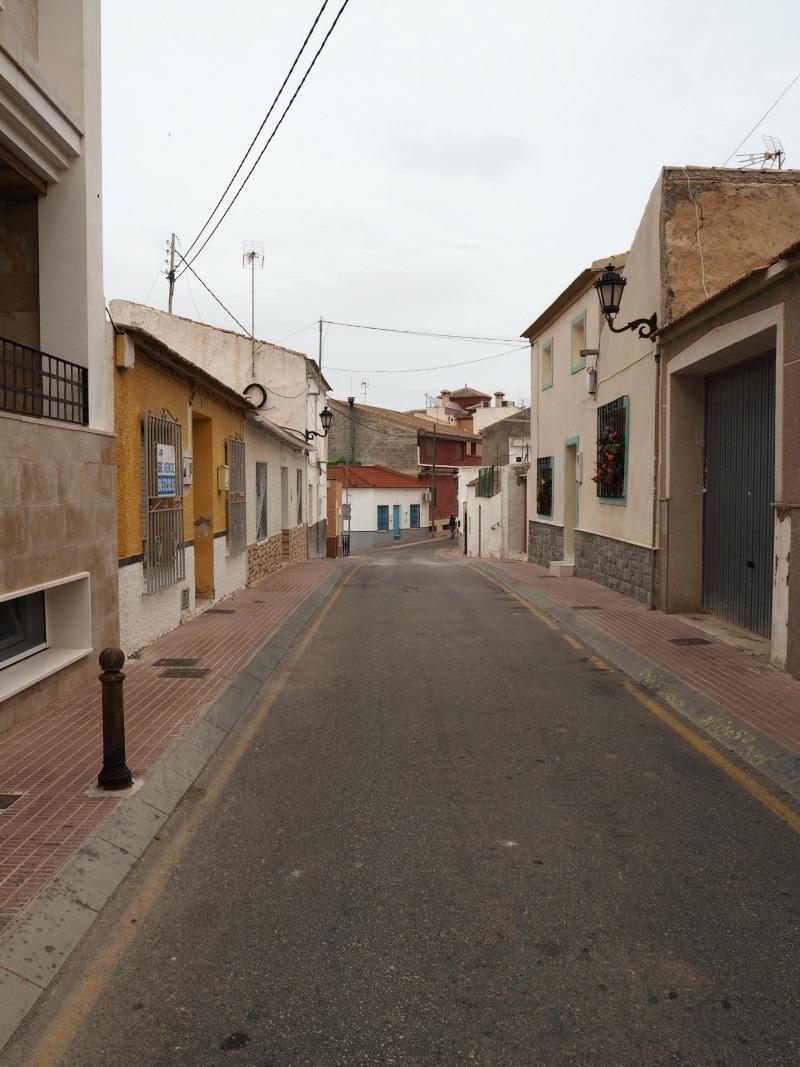 Street view in San miguel de Salinas