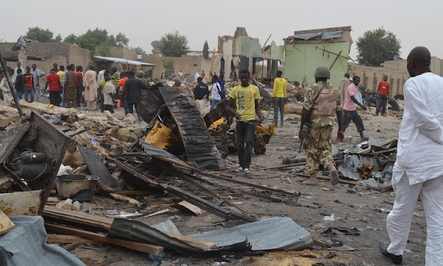 BREAKING: Several Killed as Suicide Bomber Attacks Maiduguri Mosque