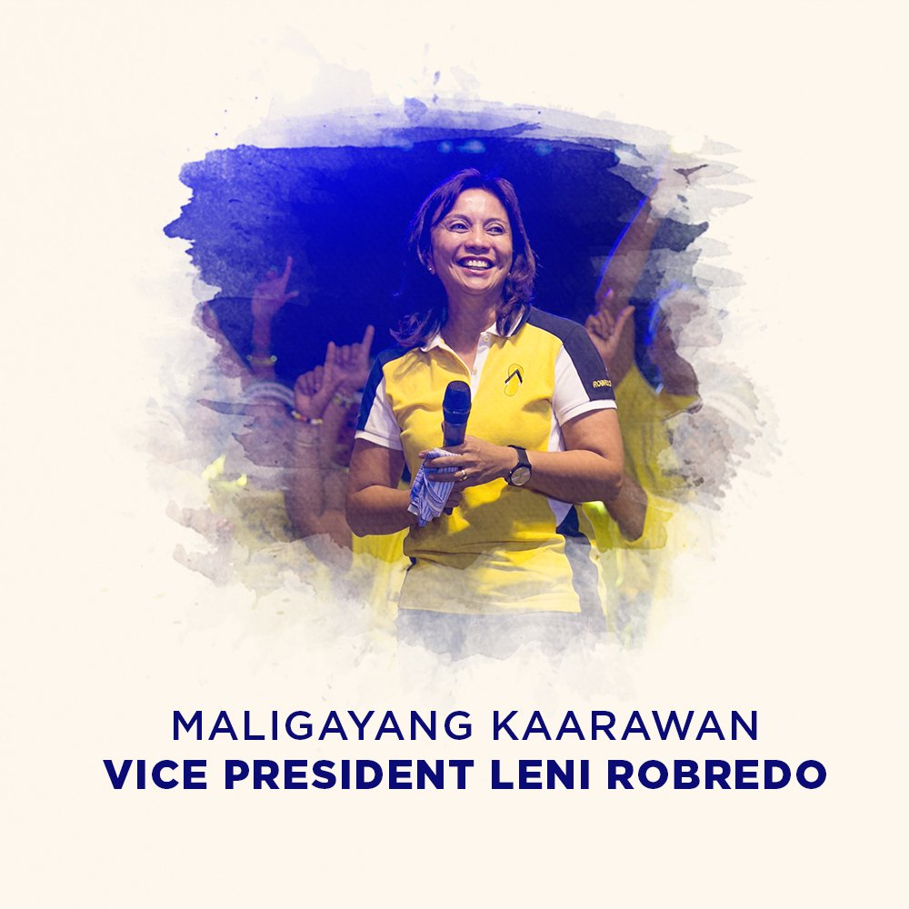 De Limas Birthday Greeting To Vp Leni Robredo Our Daily