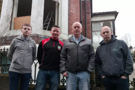 Republican Ex-Prisoners Support Offices Vandalised