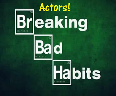 Actor's bad habits. How to remove them