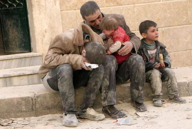 Ustadz Sutarto MIP berpesan pada Umat Islam di Kota Banjarmasin agar jangan sampai mengabaikan saudara-saudara kaum muslimin di Aleppo Suriah.  Sebab terang Sutarto, Umat Islam itu laksana satu tubuh.  Jika anggota tubuh lainnya merasa sakit, maka yang lain juga akan merasakan sakit.
