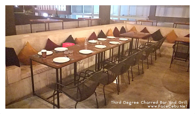 Third Degree Charred Bar & Grill Cozy Set-up