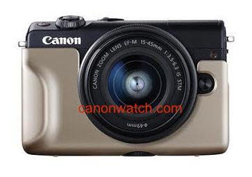 Canon EOS M100, вид спереди