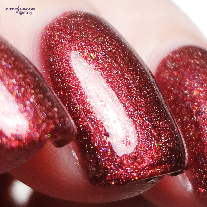 xoxoJen's swatch of Heather's Hues Seductress