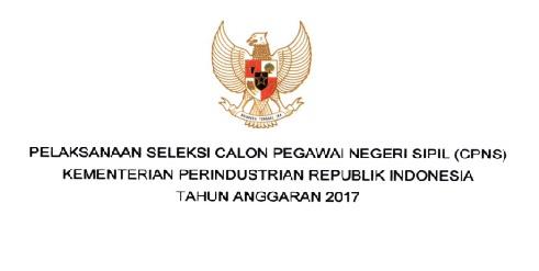 Lowongan CPNS Kementerian Perindustrian Tingkat D Lowongan CPNS Kementerian Perindustrian Tingkat D3, S1 [380 Formasi]
