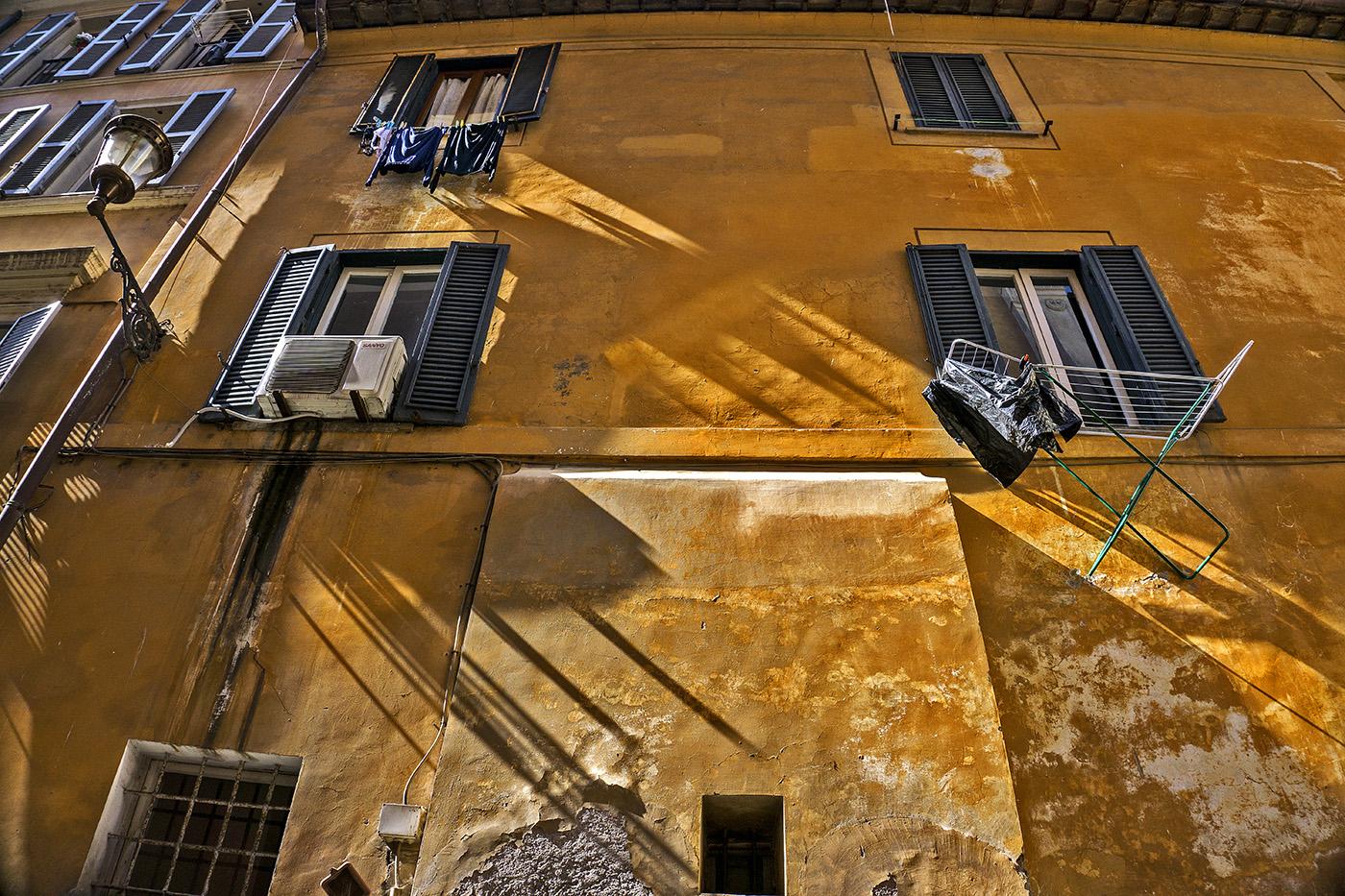 Street scene in Rome, Italy