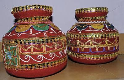 Krishna Janmashtami Matki Decoration