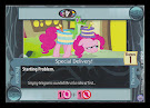 My Little Pony Special Delivery! Premiere CCG Card