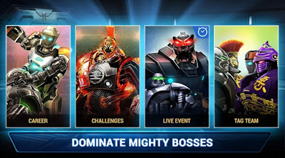 Real Steel Boxing Champions Mod Apk+Data