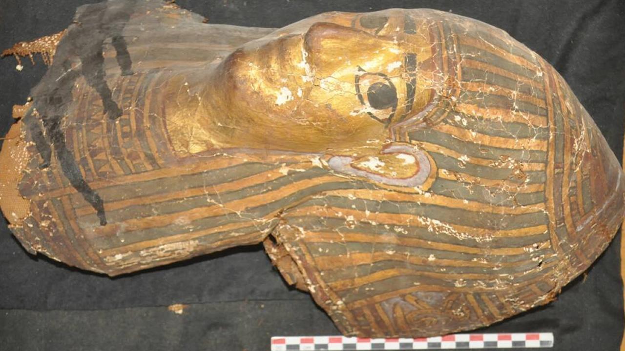 Descubrimiento trascendental: Hallan en Egipto 10 tumbas de 2.500 años de antigüedad