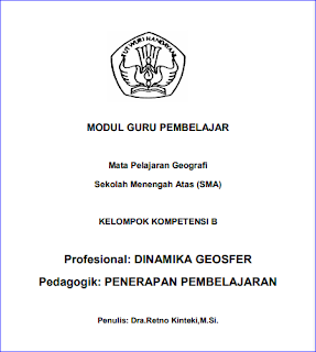 DOWNLOAD MODUL PKB GEOGRAFI SMA 2017