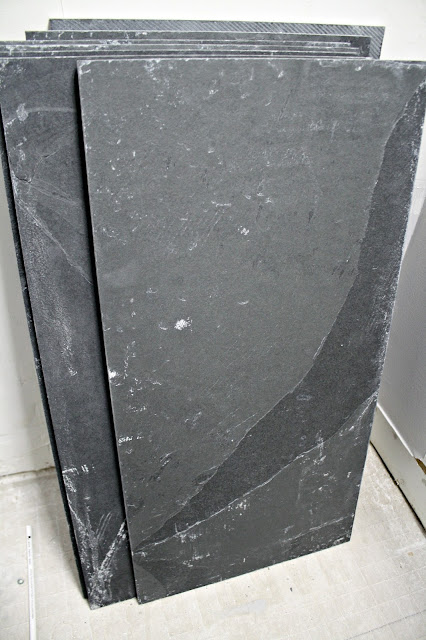 Montauk black gray tile