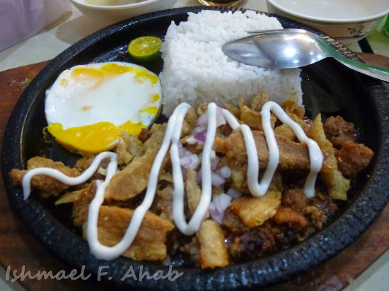 Pork sizzling sisig of King Sisig