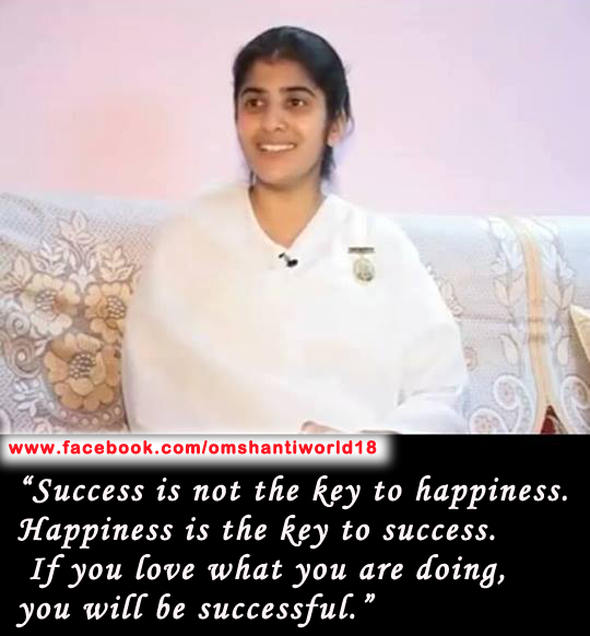 bk shivani thoughts on success