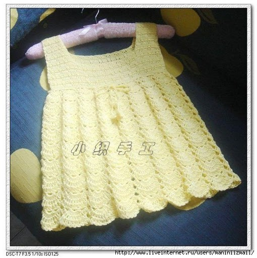 Crochet Stitches For Beginners Step By Step : ... crochet toddler dress patterns, how to crochet baby dress step by step