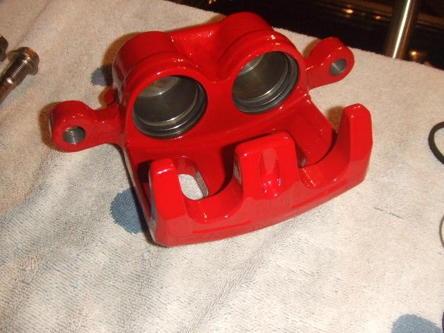 powder coat brake caliper masking