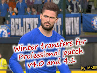 Option File PES 2017 untuk PES Professionals 4.0 & 4.1 update 2/2/2018