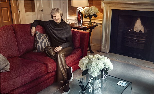 Theresa May su Vogue America