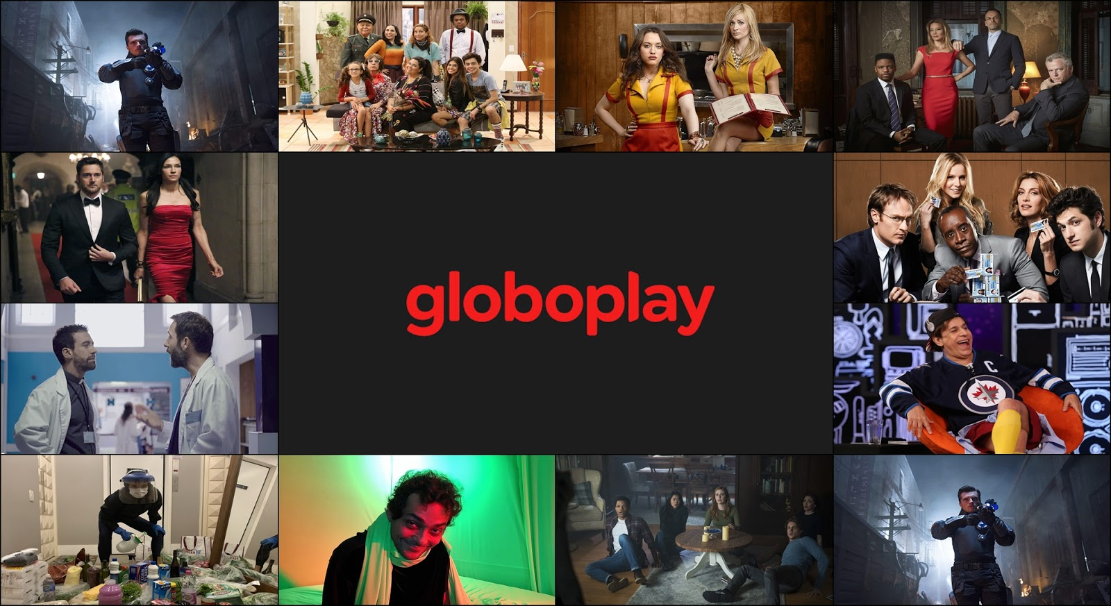Globoplay - Confira as novidades de Junho