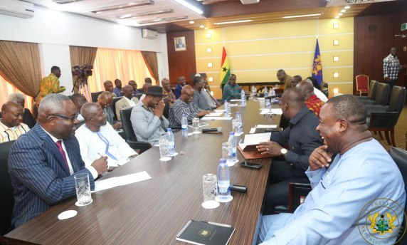 Atik Mohammed lauds Akufo-Addo meeting with political parties