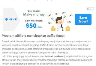 monetize blog dengan adsense alternative.