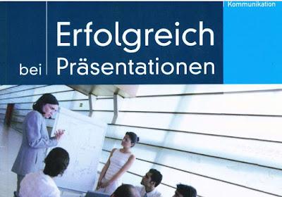 كتاب التدرب على التواصل المهني :   كيف تنجح في تقديم العروض و المحاضرات  + الصوتيات  Erfolgreich bei Präsentationen