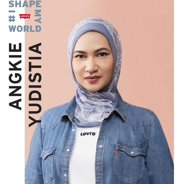 angkie yudistia - i shape my world