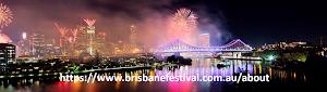 Menikmati Pesta Kembang Api pada Puncak Festival Brisbane Australia