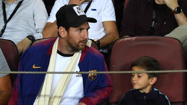 Lionel Messi Sudah Mulai Latihan Kembali