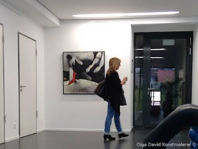 Kundenzentrum Baden-Baden Beispiel Gemälde Segmentmalerei
