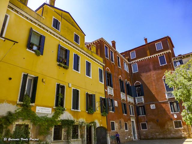 Campiello de la Cason - Cannaregio, Venecia por El Guisante Verde Project