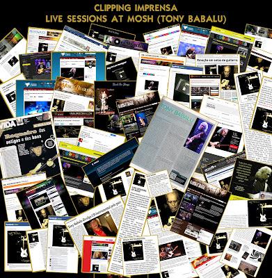 Publicações CD 'Live Sessions at Mosh' (Tony Babalu)