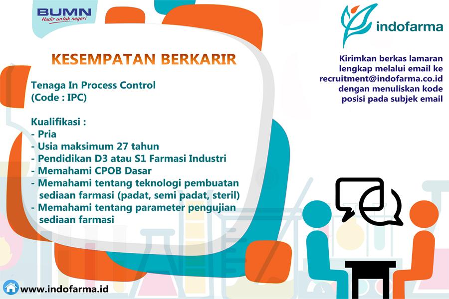 Lowongan Kerja Pt Indofarma Persero Tbk November 2018