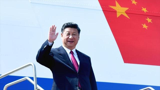 Presidente chino llega a Ecuador en su gira por América latina