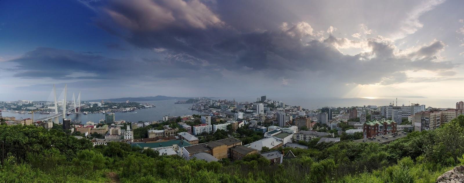владивосток панорамные фото города