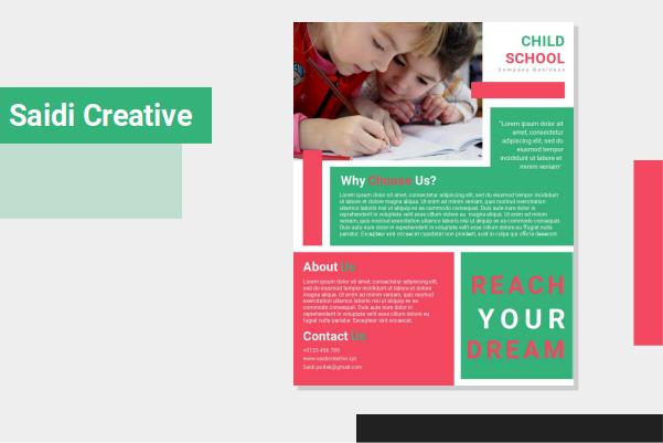Free School Flyer Template Word Document Fully Editable
