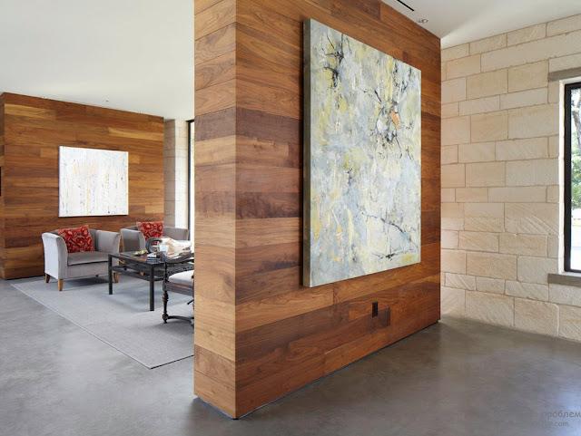 vách ngăn gỗ tự nhiên- mẫu 6