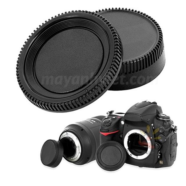cap body và cap đuôi lens Nikon
