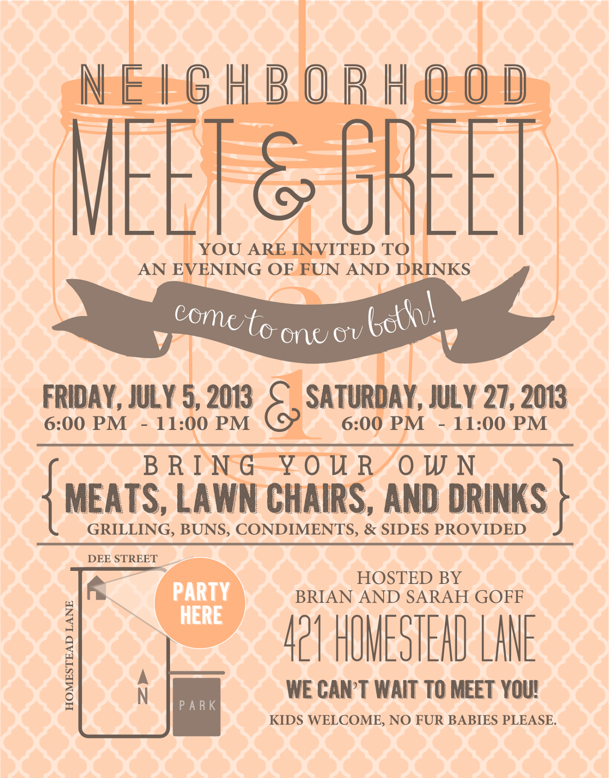 meet and greet invitation examples