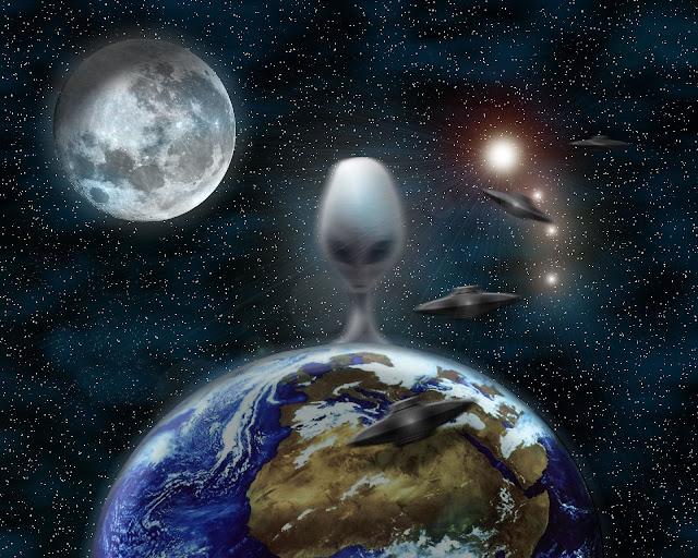 Terungkap, 6 Bukti Amerika Sembunyikan Alien Di Bulan