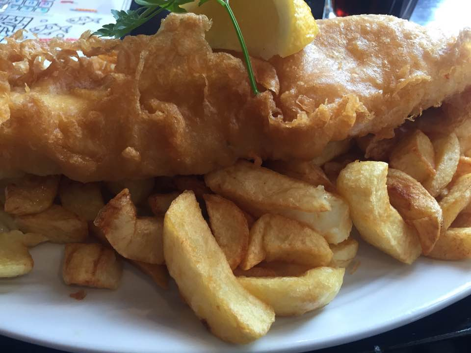 Fire and Ice Durham 2017 | Photographs & Top Tips for 2018 - Fish and Chips from Bells Fish and Chips