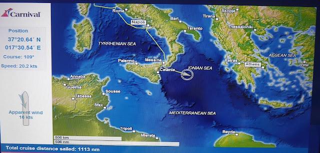 carnival vista mediterranean cruise 嘉年華願景號 地中海郵輪